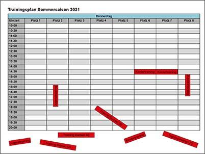 Sommertraining2021