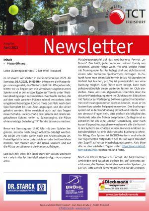 Newsletter 4-2021-1